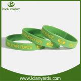 Rubber Handicraft Silicone Custom Made Bracelets for Event