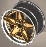 Roda de liga forjada de duas peças ou três peças (12-26 polegadas)