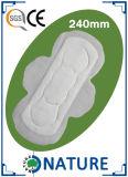 Almofadas sanitárias de Manafucture da higiene profissional para a senhora