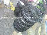 Cable de acero de madera y mezcla de PP Cubierta de limpieza cepillo (YY-288)
