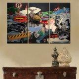 Multi Comités die het Schilderen van het Canvas van het Decor van het Huis van de Kunst voor Woonkamer schilderen