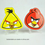 Kundenspezifischer Metallzinn-Kasten, Vogel-Form-tadellose Süßigkeit-Zinn-Kasten, verärgertes Vogel-Form-Zinn