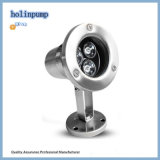 IP68 luz subacuática subacuática inoxidable del acero LED Light/15W LED con la alta seguridad (HL-PL15)