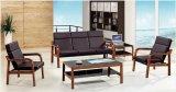 Il sofà attendente caldo dell'ufficio vendite imposta il banco dell'ospite in azione 1+1+3