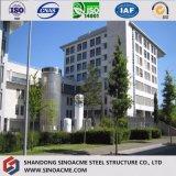 Oriente Medio Venta caliente edificio residencial de prefabricados de estructura de acero