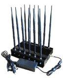 De mobiele Stoorzender van de Telefoon met 12 Antennes die Al 2g, 3G blokkeren, 4G de Stoorzender van het Signaal van de Telefoon van de Cel