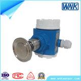 Transmissor de pressão de alta temperatura esperto de Disphragm da braçadeira do baixo custo