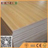 A melhor qualidade E1/E2 Melamina diante do papel laminado de madeira contraplacada de mobiliário