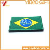 Distintivo tessuto zona su ordinazione del ricamo della bandierina di marchio di e zone del ricamo (YB-pH-411)