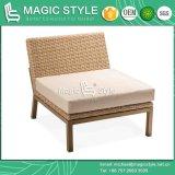 [ويكر] ثبت أريكة مع وسادة [رتّن] أريكة مع وسادة أثاث لازم خارجيّة جانبا يحوك