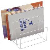 Os suportes do folheto da bancada/literatura submetem carrinhos de indicador
