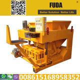 Qmy6-25移動可能な手動コンクリートブロック機械