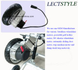 Palanca de mando y regulador accionados del sillón de ruedas en el motor sin cepillo eléctrico del sillón de ruedas de la C.C.