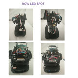 Super Mini100W LEIDENE Vlek die HoofdVerlichting bewegen