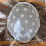 Menschenhaarvoll überzogenes Mens-Haar-Stück-Polysystem (PPG-l-0944)