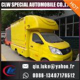Chariot de magasinage de nourriture mobile, camion de nourriture