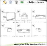 Disipador de calor de aluminio del material de construcción para los automóviles