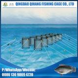 Gaiola de flutuação tubular da piscicultura do HDPE