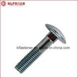 parafuso chapeado zinco DIN603 de 4.8grade/8.8grade Carrage