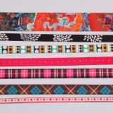 Het hete Lint van de Jacquard van de Polyester van de Verkoop voor de Toebehoren van Kledingstukken