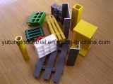 Fibra de vidrio Material de los productos puente rejilla de FRP Fabricante