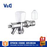 Automático termostático de latón Válvula del radiador (VG-K18091)