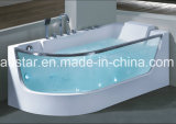 1650mm Glass Massage Bathtub SPA met Ce RoHS (bij-0715)