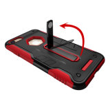 Чернь TPU+PC/вспомогательное оборудование сотового телефона на iPhone 7