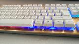 Связанная проволокой металлом клавиатура компьтер-книжки Djj220/компьютера
