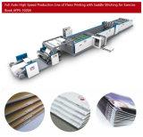 고속 Flexographic 인쇄 및 안장 바느질 연습장 기계