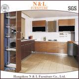 N & L dernières conceptions haute brillance placard MDF Armoire de cuisine