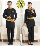 Uniforme del cuoco unico di alta qualità, uniforme del cuoco unico delle uniformi della camicia della cameriera di bar