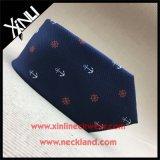 Corbata tejida seda de encargo del ancla de la alta manera del Mens