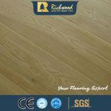 plancher en stratifié résistant gravé en relief par AC3 de l'eau de 12.3mm E0 HDF