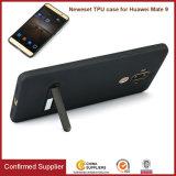 Caisse de téléphone de fibre de carbone pour de Huawei la PRO TPU couverture du compagnon 9 avec Kickstand