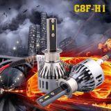 6000k phare en aluminium du matériau DEL avec le certificat de RoHS ISO9001 de la CE