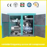 compresor de aire de alta presión del tornillo del inversor magnético permanente de la frecuencia 90kw