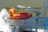 Морская 6persons спасательная лодка, спасательная лодка стеклоткани Solas