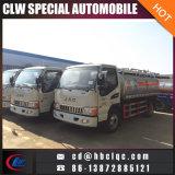 中国の製造ライトJAC 5m3 4tオイルのトラックタンク給油車