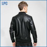 Куртка Genine оптовой конструкции велосипедиста Mens самой последней кожаный