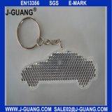 Gancio riflesso con le catene chiave del metallo per la promozione di sicurezza (JG-T-2)