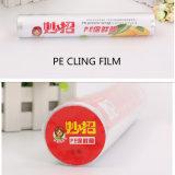 Il multi silicone del coperchio dell'alimento di formato di vendita calda aderisce pellicola per l'imballaggio dell'involucro dell'alimento