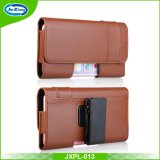 Pour différents téléphones Black Business Wallet Case Leather Belt Clip Pouch Cover