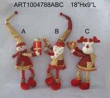 Het bevindende Speelgoed van Kerstmis met Giften, 3 Asst