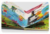 만화 책 Maiking 기계를 위한 반에서 접히는 자동적인 널 책 장