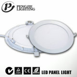 Venta Ronda 6W caliente luz del panel LED para Office con el CE ( PJ4024 )