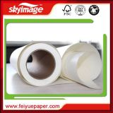 50GSM 44inchは非カールする高速印書装置の印刷(製造)のための速い乾燥した昇華転写紙を