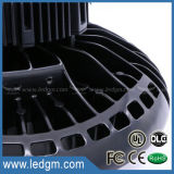 A lâmpada industrial IP65 da iluminação do UFO Highbay Waterproof a luz elevada do louro do diodo emissor de luz de 130lm/W 200W 150W 100W