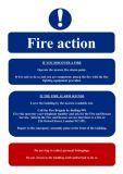 Programma di pavimento dell'hotel, segno di programma di uscita d'emergenza