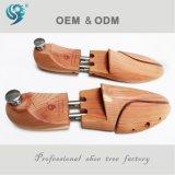 Acessórios de madeira expansíveis normais do esticador da sapata do homem